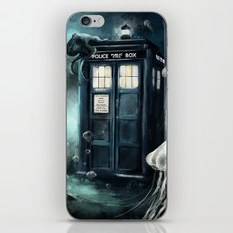 Doctor Who -Underwater Tardis iPhone Skin
