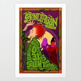 The Sanderson Sister Live in Concert Art Print