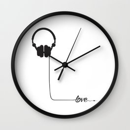 For the love of music 2.0 Wall Clock