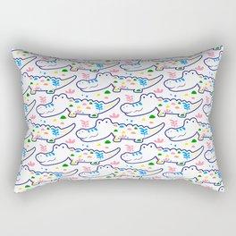 Cutie Crocs Rectangular Pillow
