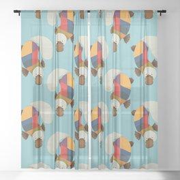 Platypus Sheer Curtain