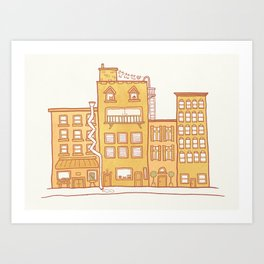 Anywhere, Anywhere Art Print