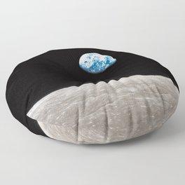 Earthrise William Anders Floor Pillow