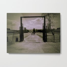 Escape for Freedom Metal Print