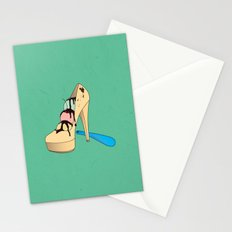 Ice Creamy Shoes Stationery Cards