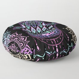 Pastel Hamsa amulet Floor Pillow