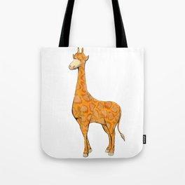 giraffe simple animal Tote Bag