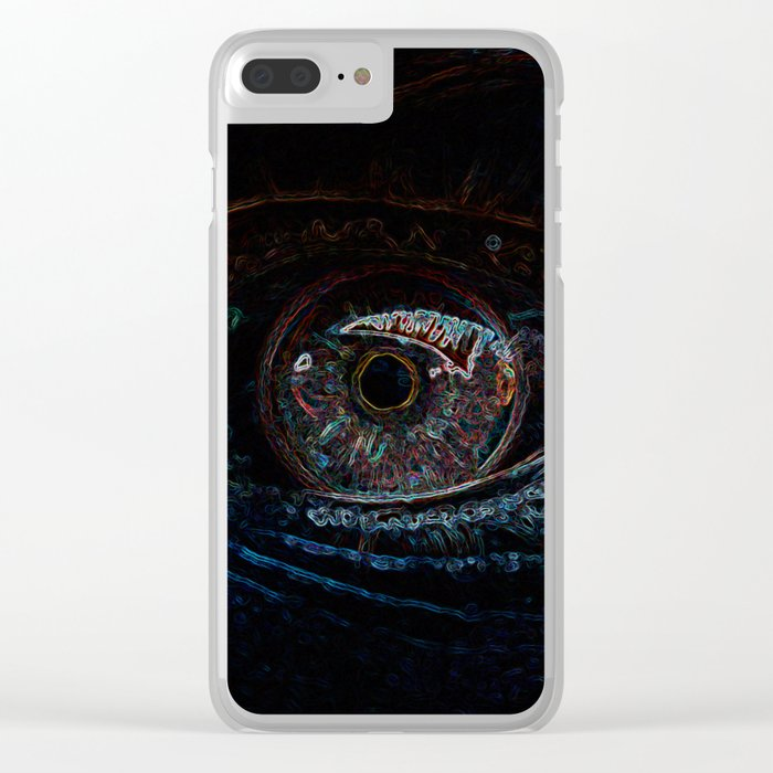 Colorize Clear iPhone Case