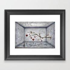 Der alte Liebesbaum  Framed Art Print