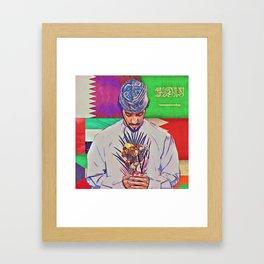 A Bouquet of Love Framed Art Print