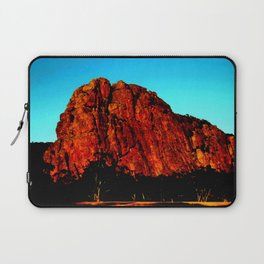 The red Rock Laptop Sleeve