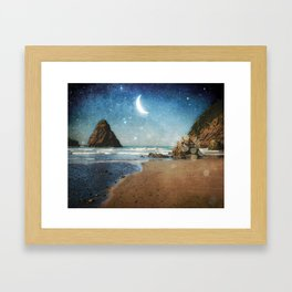 Oregon Moondust Framed Art Print