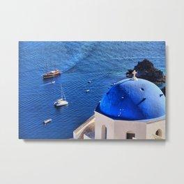 Santorini 14 Metal Print