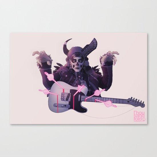 Tele-Caster Canvas Print
