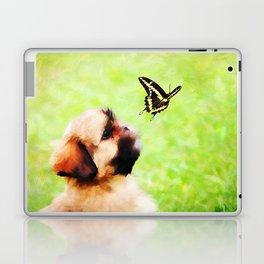 Watching Butterflies Laptop & iPad Skin