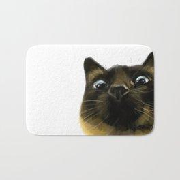 Applehead Siamese Cat Bath Mat
