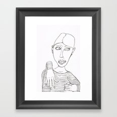Really? Framed Art Print