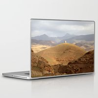 greg guillemin Laptop & iPad Skins featuring Greg Katz Morocco landscape  by Artlala for MSF Doctors Without Borders
