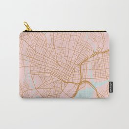 New Haven map, Connecticut Carry-All Pouch