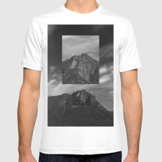 Marumbi peak X-LARGE Mens Fitted Tee White