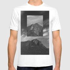 Marumbi peak X-LARGE White Mens Fitted Tee