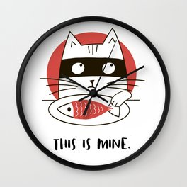 This is Mine Wall Clock