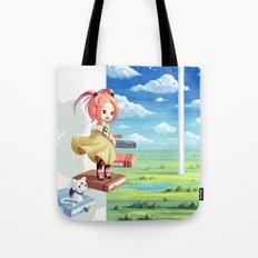 Tower of Wisdom Tote Bag