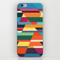 The hills run to infinity iPhone Skin