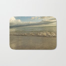 Beach at Sunset Bath Mat