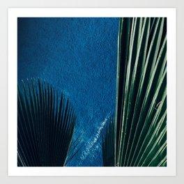 Ayiti Se Ble Art Print