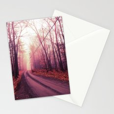 Travel Beyond The Fog Stationery Cards