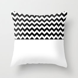 DESIGNS (BLACK-WHITE) Throw Pillow