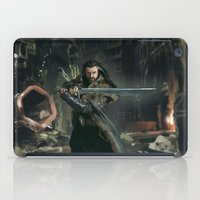 thorin iPad Cases featuring Thorin 02 by PrintsofErebor
