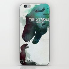 Inspired movie poster. The Lost World: Jurassic Park (1997) iPhone & iPod Skin