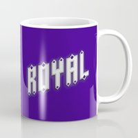 royal Mugs featuring Royal by Tyler Shaffer