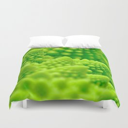 Macro Romanesco Broccoli Duvet Cover