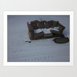 Cold Comfort Art Print
