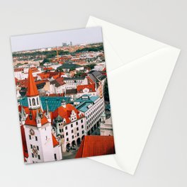 Hues Line is it Anyway? | Munich, Germany Stationery Cards