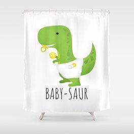 Baby-saur Shower Curtain