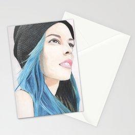 Lauren Calaway portrait Stationery Cards