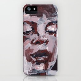 The Thought Inbetween iPhone Case
