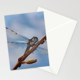 Abstract Dragonfly Stationery Cards