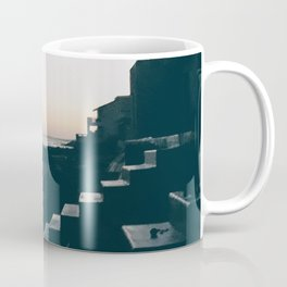 Sun Set Silhouette Coffee Mug