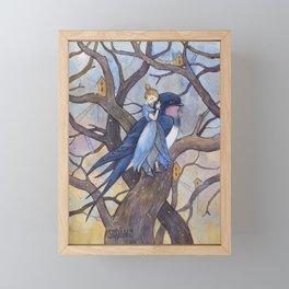 Thumbelina Framed Mini Art Print