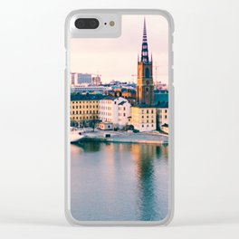 Stockholm III Clear iPhone Case