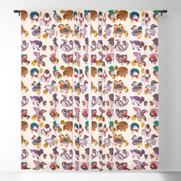 Duck and Duckling Blackout Curtain