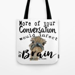 Infectious Conversation Tote Bag