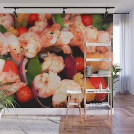 Shrimp on the Barbie Wall Mural