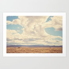 West Texas Art Print