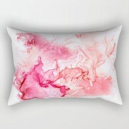 Red fog Rectangular Pillow